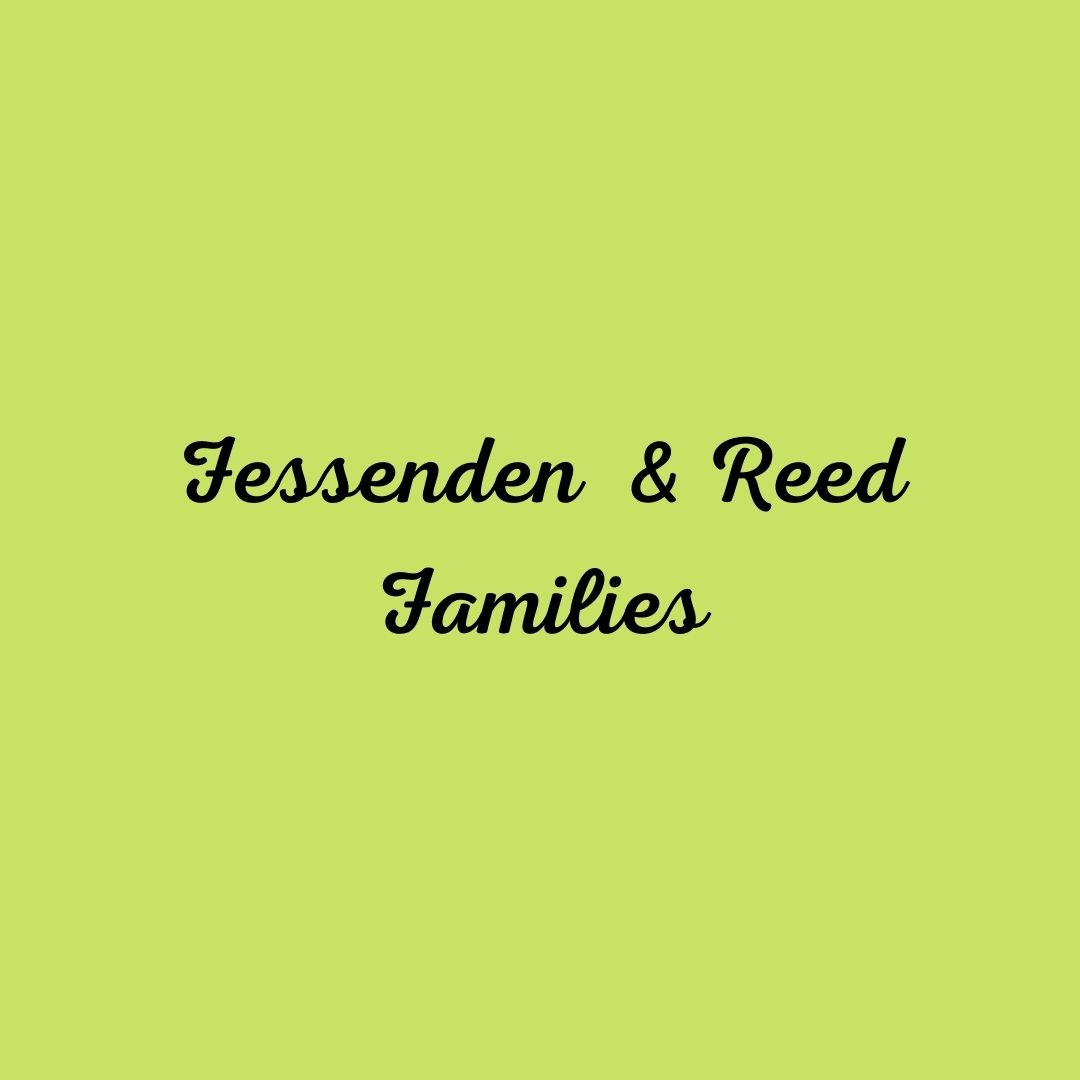 Fessenden and Reed Families